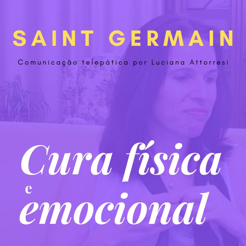 Cura física e emocional com Saint Germain